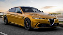 Große Alfa Romeo Limousine: Inoffizielles Rendering zeigt BMW 5er-Rivalen