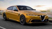 Alfa Romeo GTV: Comeback als Elektro-Rivale des BMW i4?