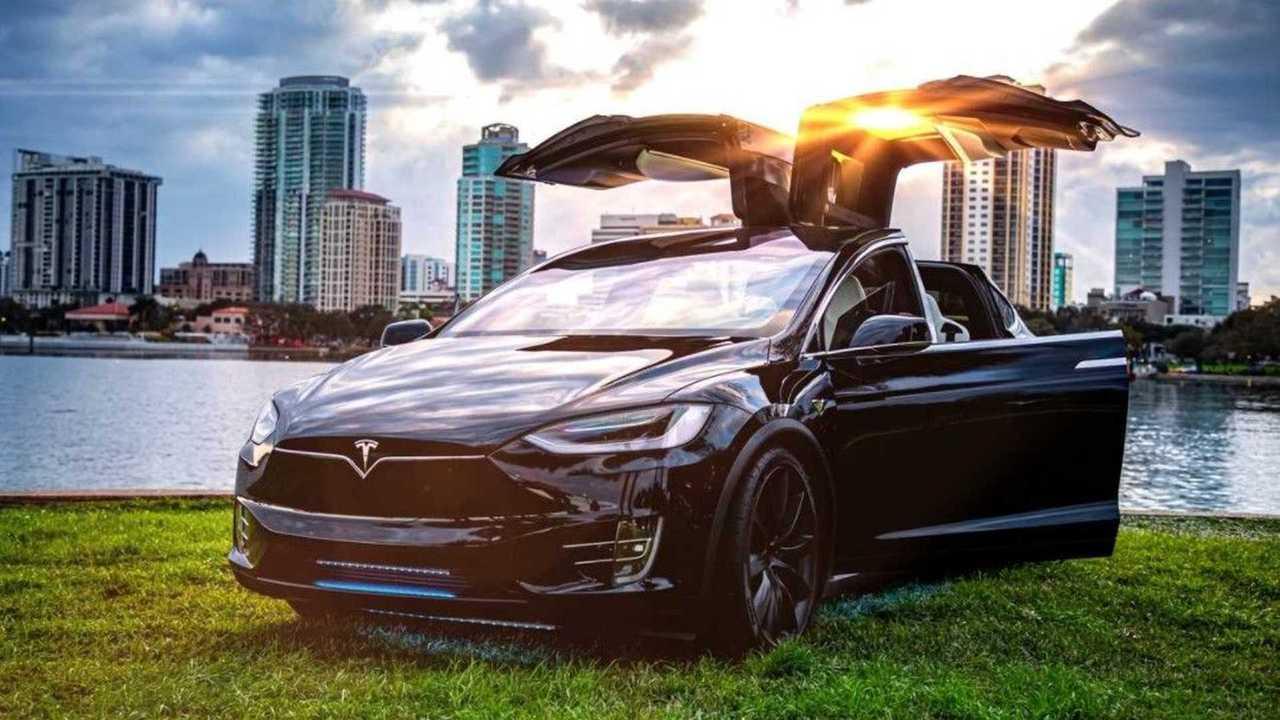 8. Tesla Model X