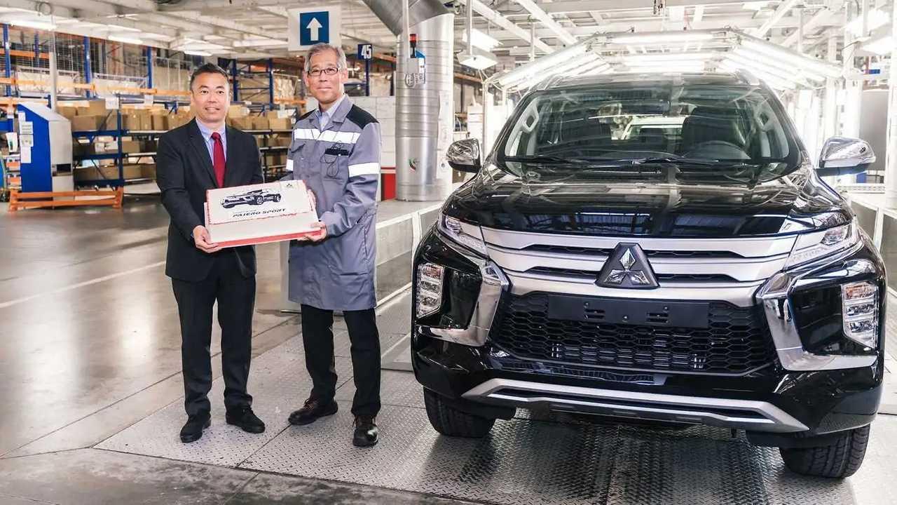 Производство обновленного Mitsubishi Pajero Sport в России
