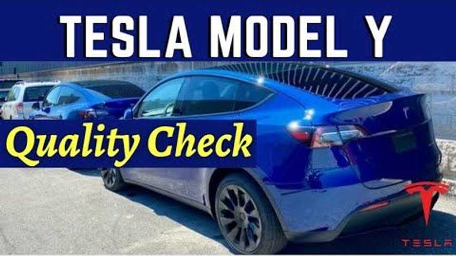 The Electric Man Almost Approves Of Tesla Model Y Build Quality