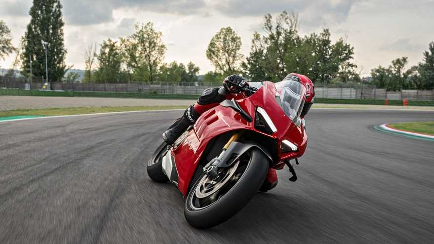 Ducati's Racing Accessories Further Sharpen The Panigale V4