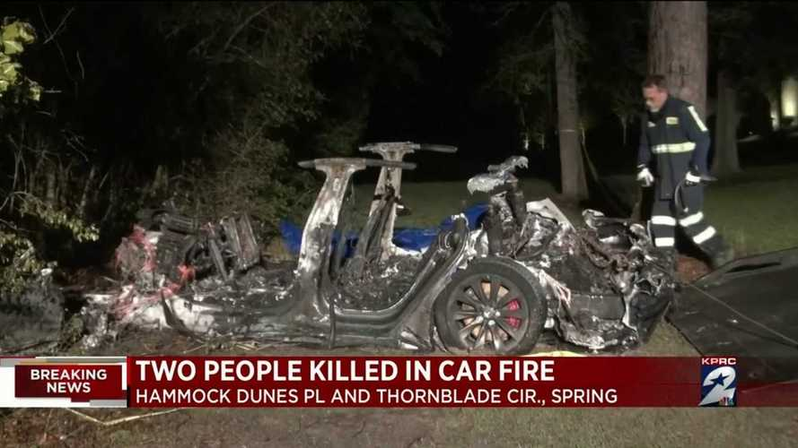 Teksas'taki ölümlü Tesla kazasının soruşturması başladı