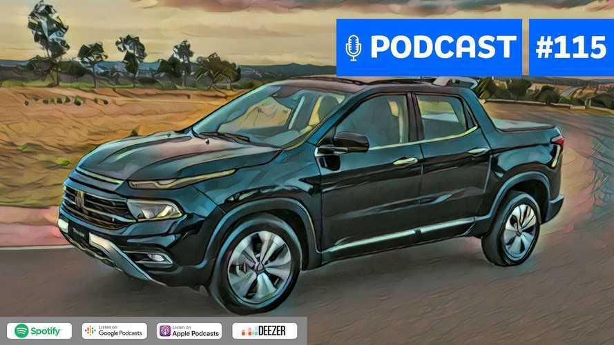 Motor1.com Podcast #115: Os detalhes da nova Fiat Toro 2022