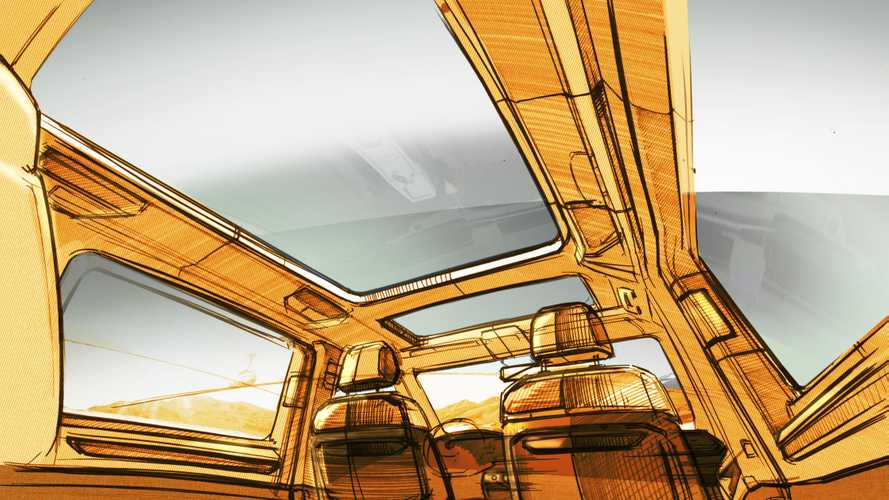 2022 Volkswagen T7 Multivan Teased With Big Sunroof, Clever Seats
