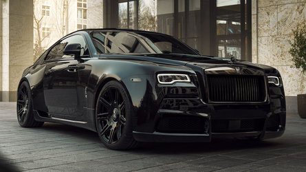 Sinister Rolls-Royce Black Badge Wraith tuned to over 700 bhp