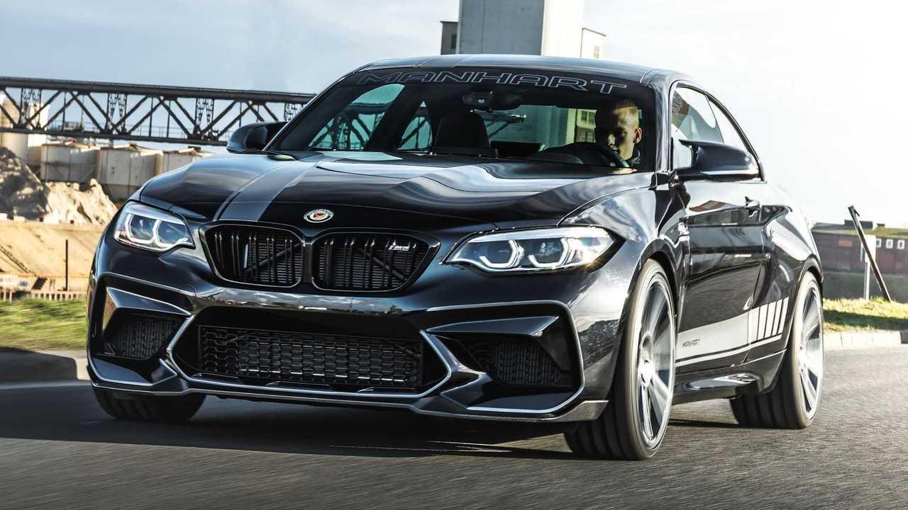 Manhart möbelt den BMW M2 Competition auf