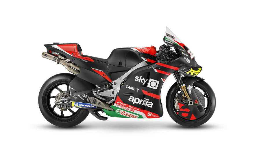 Check Out The Brand New 2021 Aprilia RS-GP