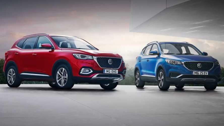 MG torna in Italia: elettriche e ibride plug-in per aggredire il mercato