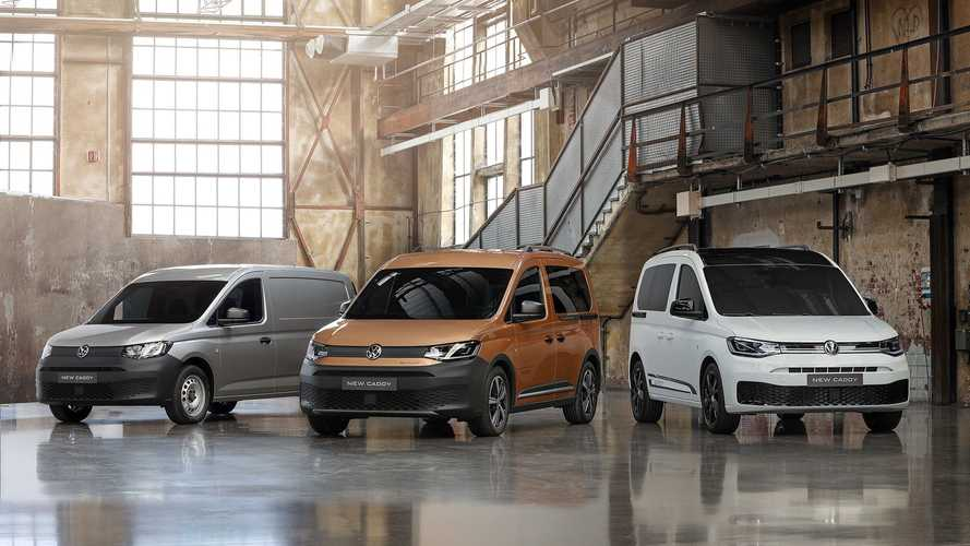 VW Caddy Cargo und Taxi (2021)