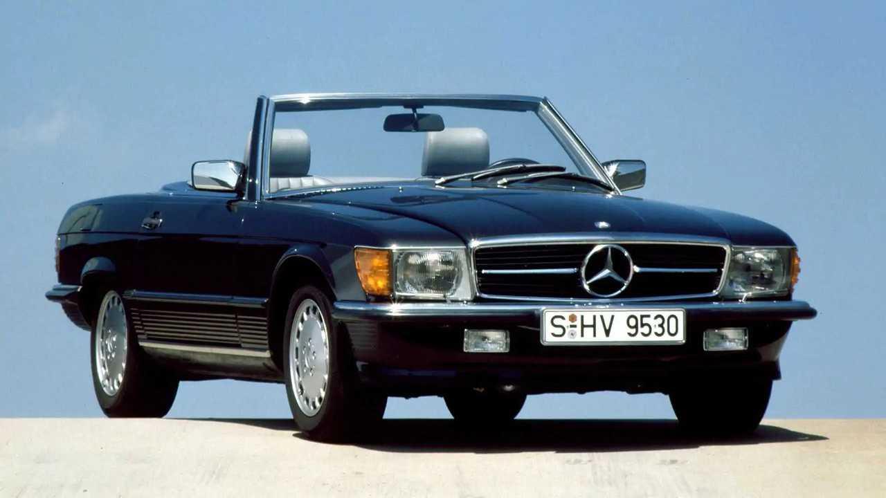 Der Mercedes SL der Baureihe 107 wird 50 Jahre alt