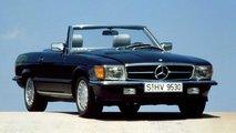 Mercedes SL (1971-1989): Die legendäre Baureihe 107 wird 50