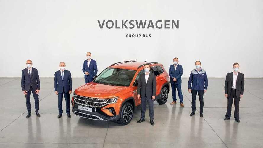 Производство Volkswagen Taos в России
