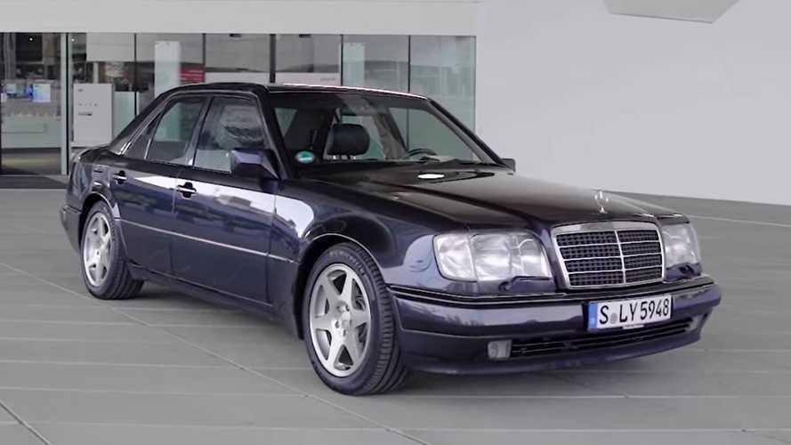 Porsche reminds us it built the iconic Mercedes 500 E sports saloon
