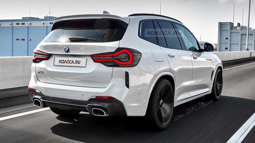 Makyajlı BMW X3 Dijital Tasarım