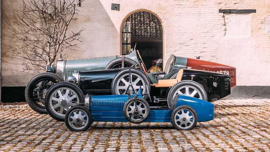 Bugatti Baby II, entregas a clientes