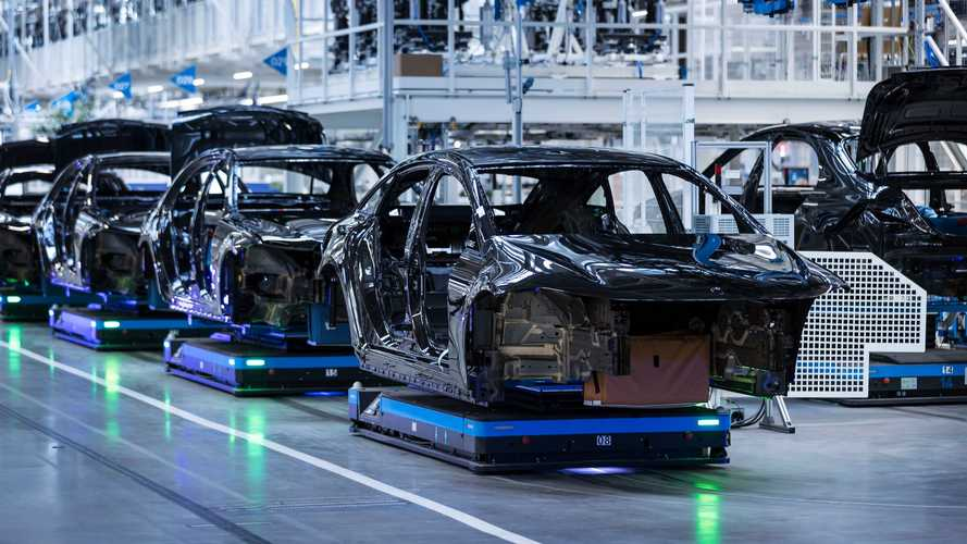 Mercedes-Benz EQS Enters Production, More Specs Revealed