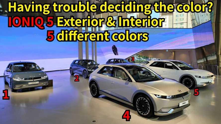 See Hyundai Ioniq 5's Exterior And Interior Colors