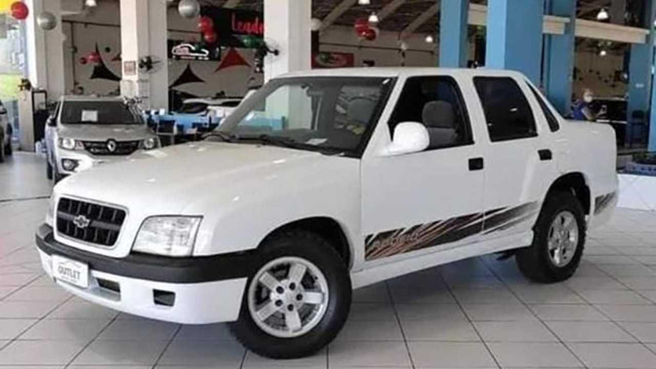 Chevrolet S10 Sedan - Flagra Autoblog Argentina