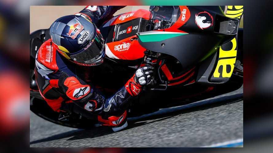 Andrea Dovizioso - Aprilia MotoGP Testing at Jerez, April 2021