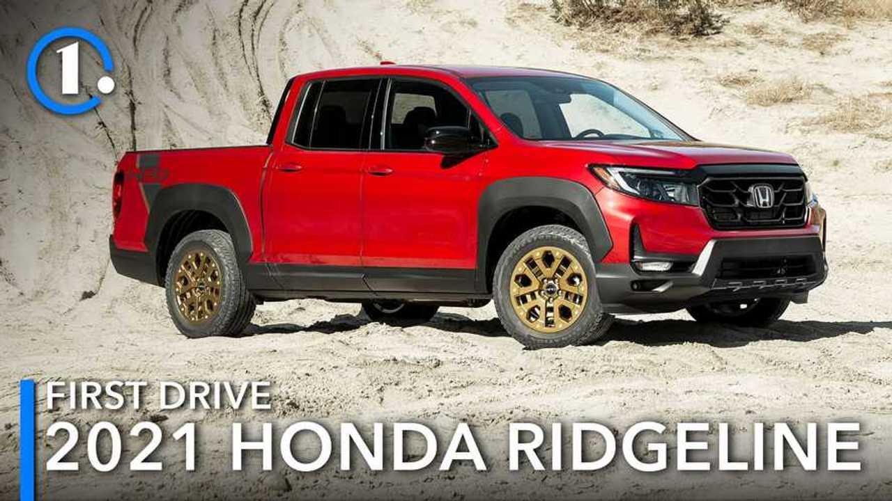 2021 Honda Ridgeline First Drive