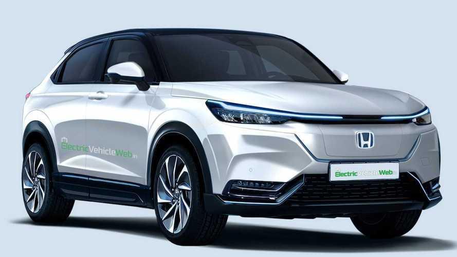 Honda HR-V 2022 elétrico ganha projeção como versão de produção