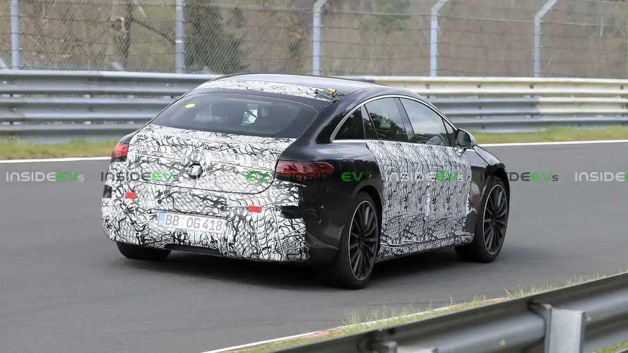 Photos espion - Mercedes-AMG EQS