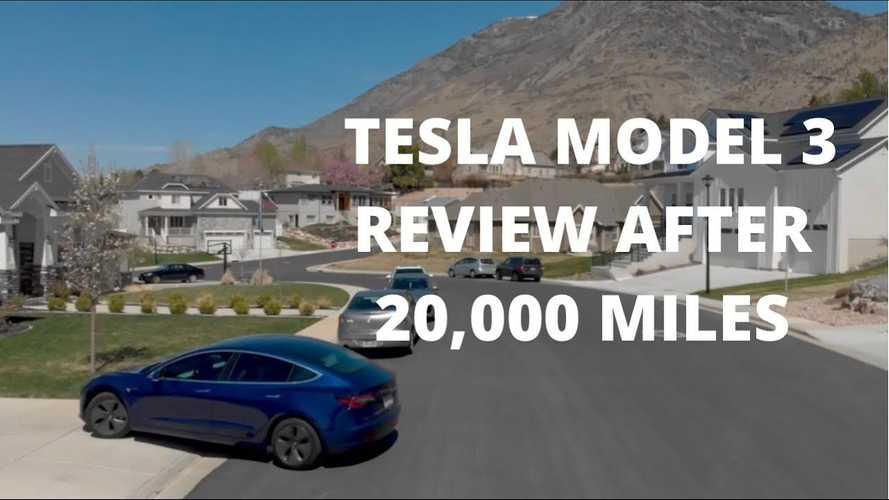 Watch This Tesla Model 3 SR + 20,000-Mile Review