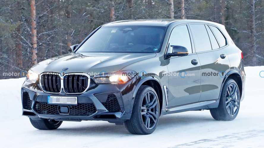 BMW X5 M Facelift Spy Photos