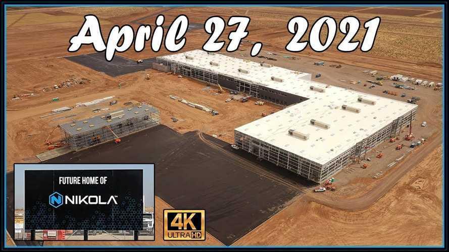 Check Out Nikola's Construction Site After 9 Months