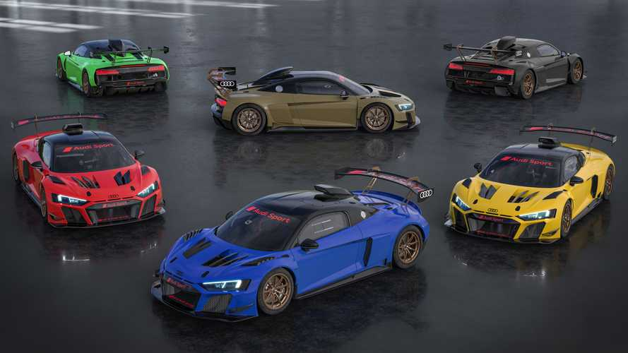 Audi R8 LMS GT2 Color Edition Debuts As Splashy $422,000 Race Car