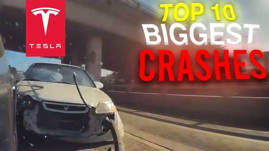 Watch the top 10 Tesla and Teslacam crashes of 2021: wham, bam