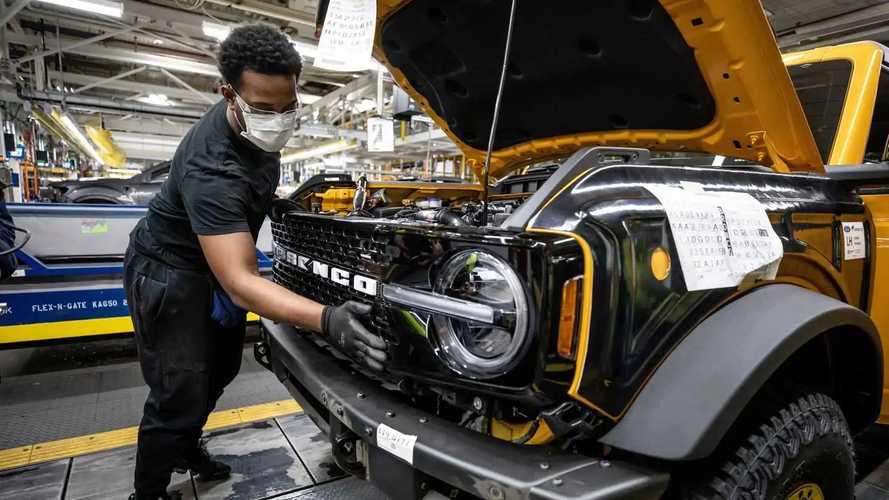 2021 Ford Bronco Üretime Girdi