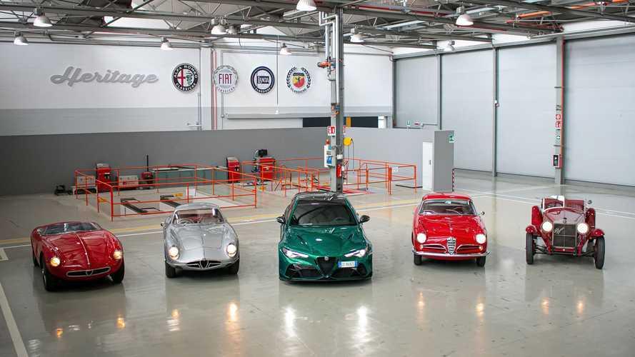 Alfa Romeo Heritage - 1000 Miglia 2021
