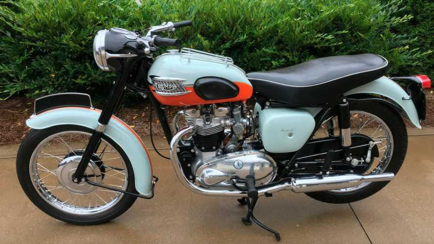 Rare 1959 Triumph Bonneville T120 Needs A Good Forever Home