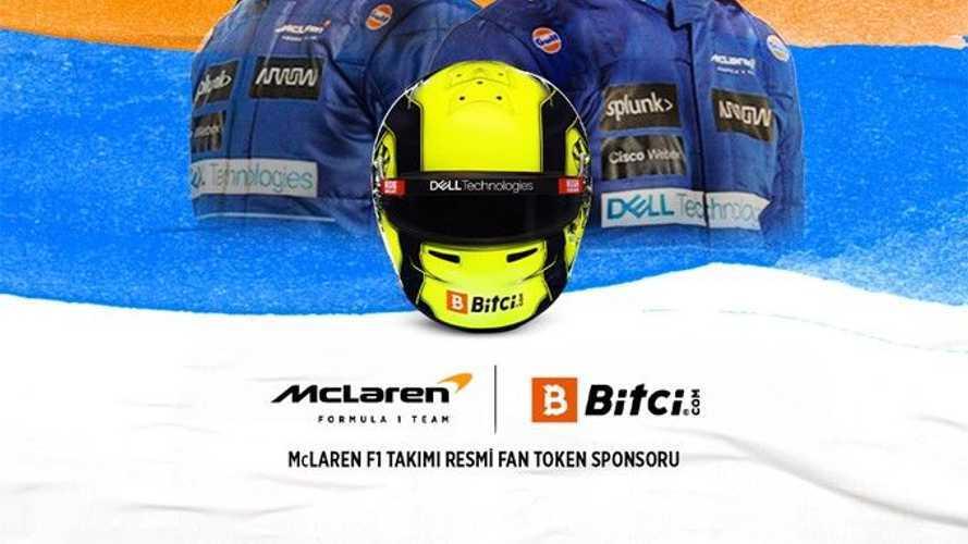 McLaren, Türk Bitci.com ile anlaştı!