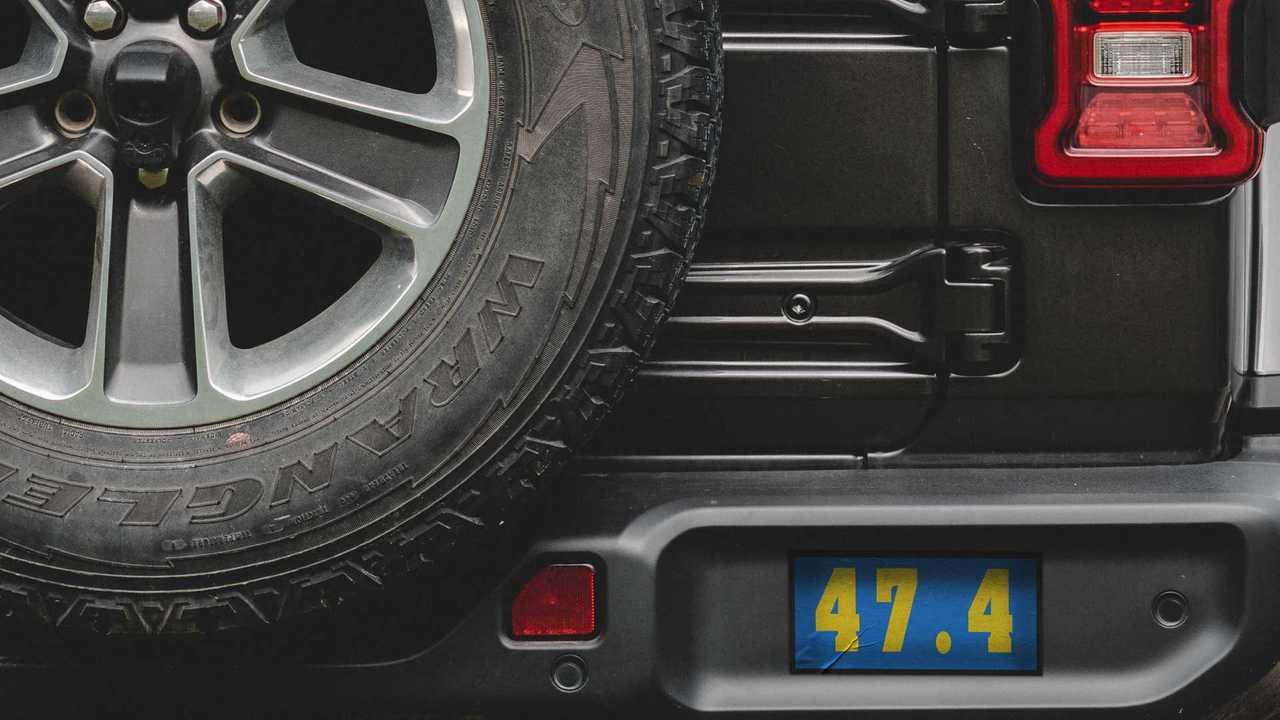 Jeep Wrangler mystery tweet teaser.