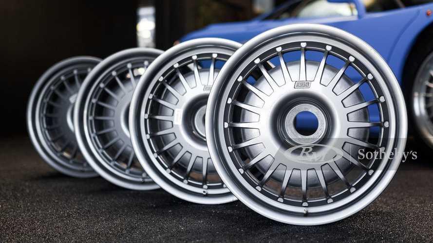 Mahalnya Pelek Bekas Orisinal Bugatti EB110, Satu Buah Rp51 Juta