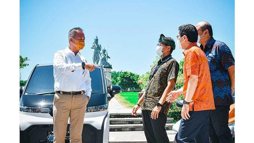 Toyota Hadirkan EV Smart Mobility di Bali