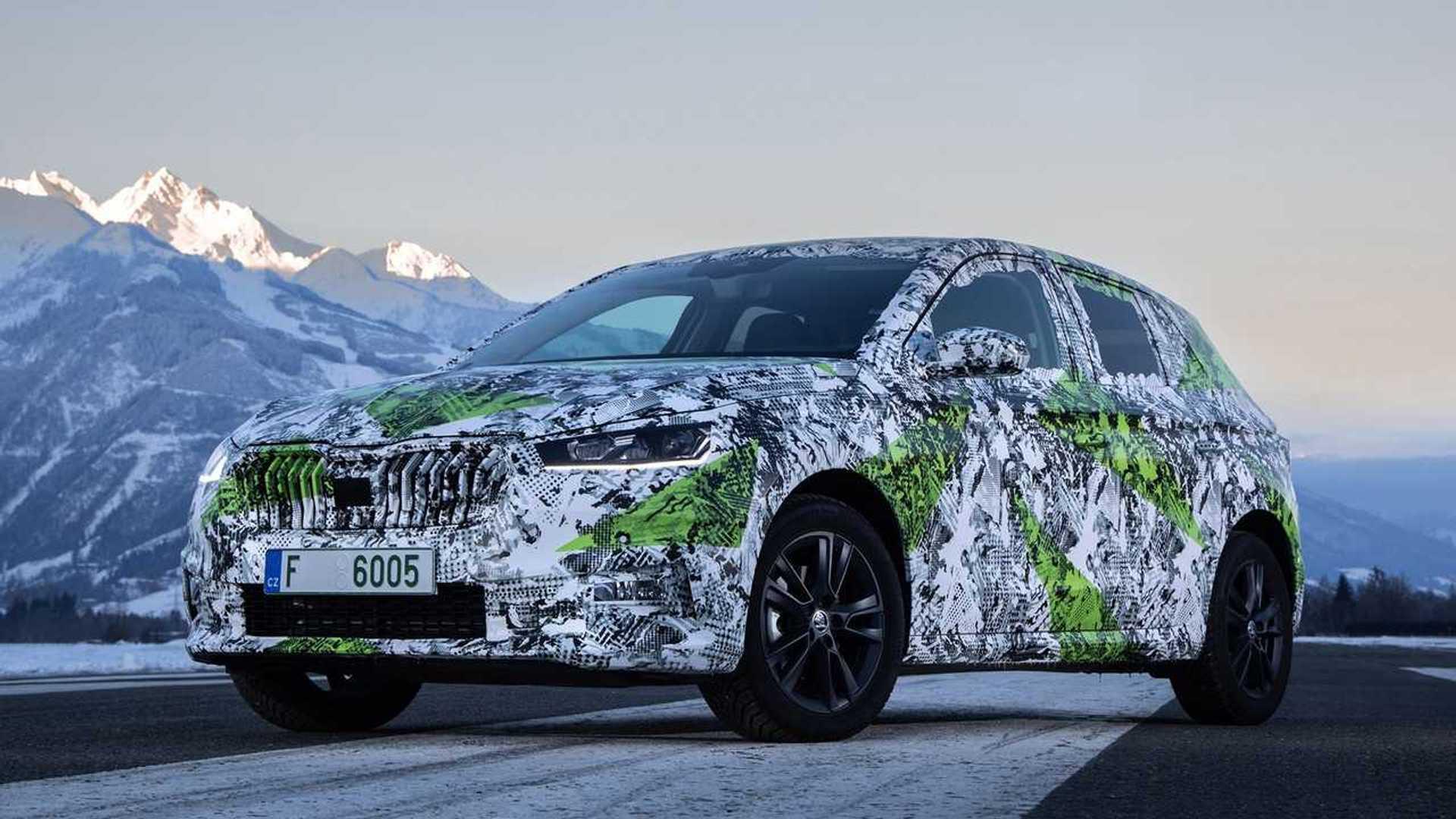 Skoda Fabia 2021 года представила, и она такая же большая, как Volkswagen Golf Mk4