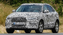 2015 / 2016 Audi Q3 facelift spy photo