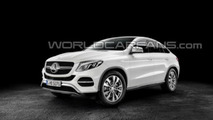 Mercedes GLE Coupe leaked photo