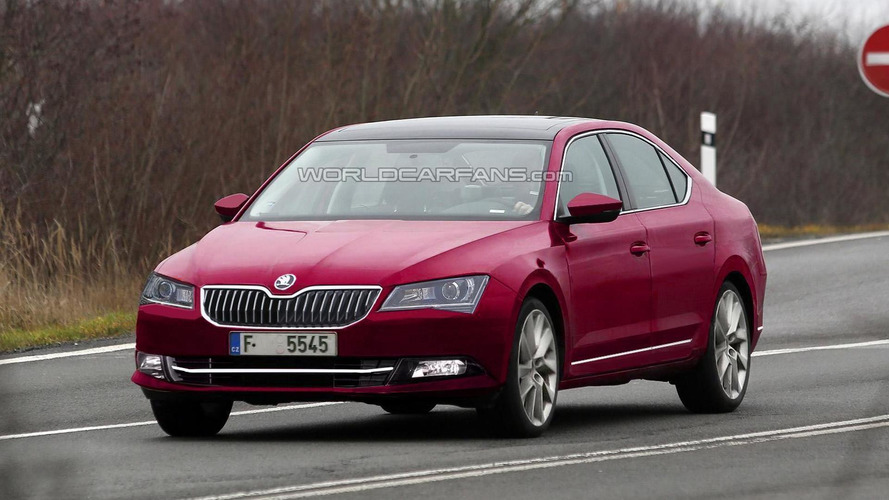 WCF reader imagines 2015 Skoda Superb based on spy shots and official sketches