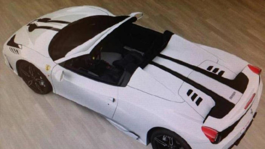 Ferrari 458 Spider Speciale leaked through configurator screenshots?