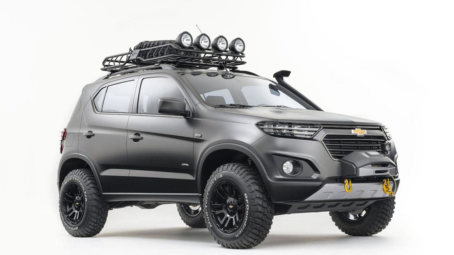 Chevrolet Niva concept unveiled in Moscow