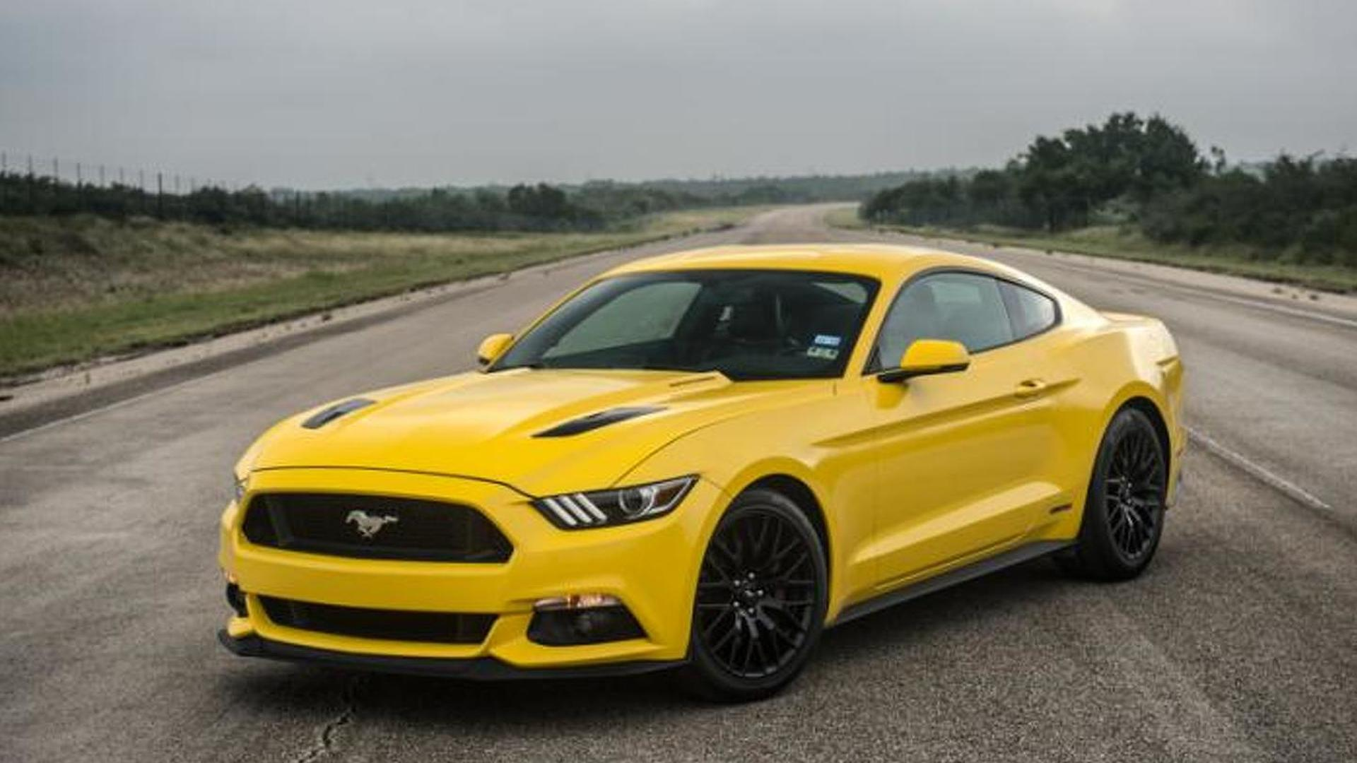 774 bhp ford mustang gt by hennessey hits 207 9 mph video