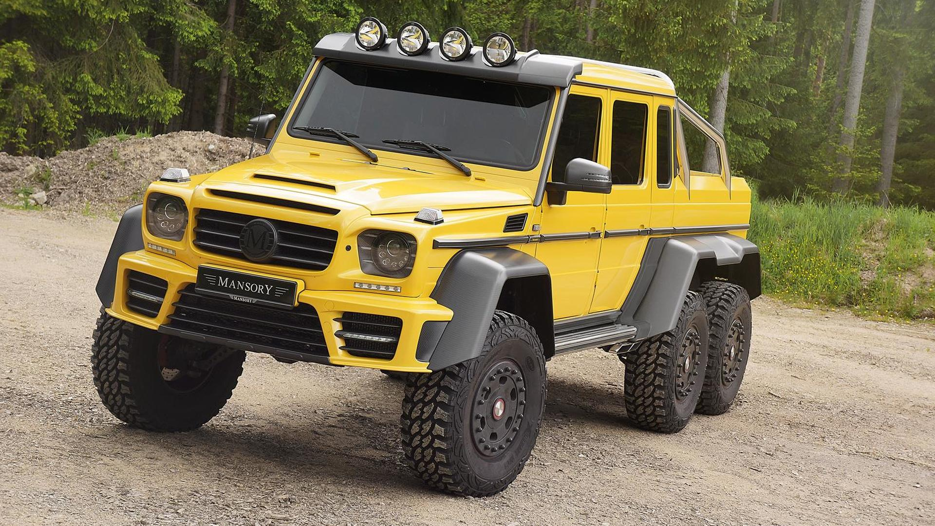 Mansory Makes The Mercedes Benz G63 Amg 6x6 Even More Opulent