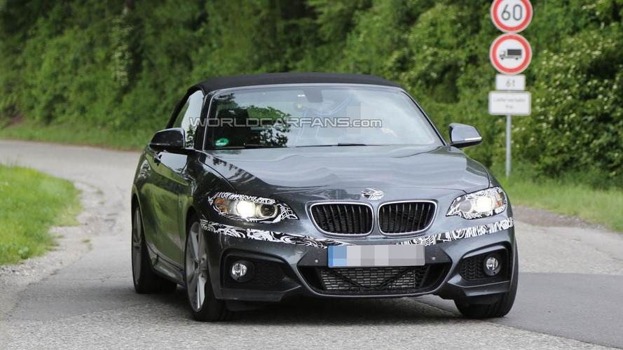 BMW 2-Series Cabrio spied in M Sport guise