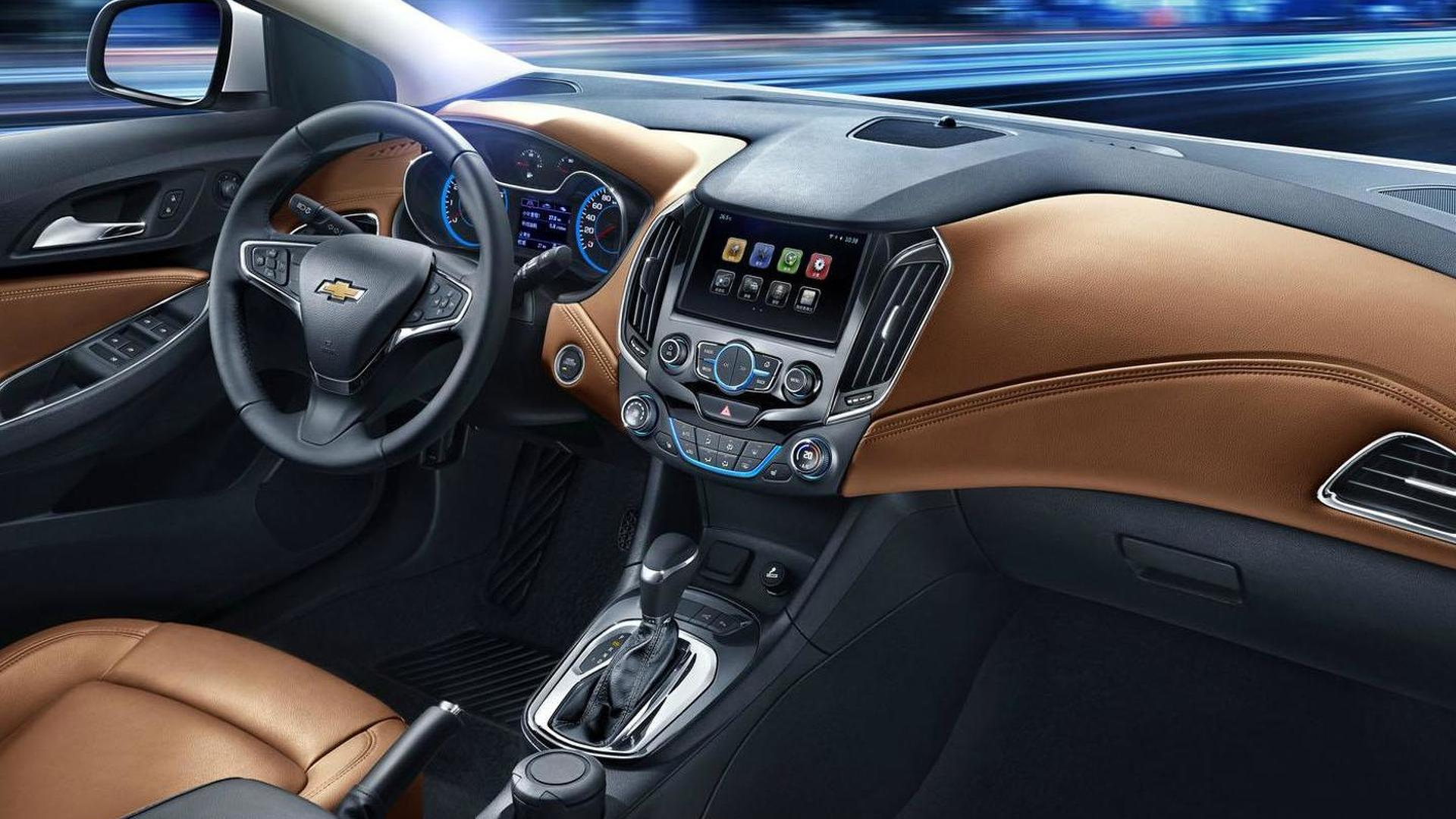 2015 2016 Chevrolet Cruze Interior Revealed