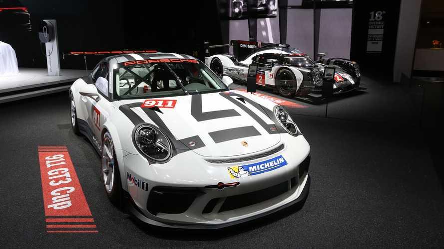 Porsche dévoile la nouvelle 911 GT3 Cup pour 2017